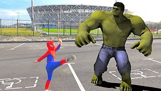 BIG HULK vs SPIDERMAN the INCREDIBLE HULK vs SPIDER MAN