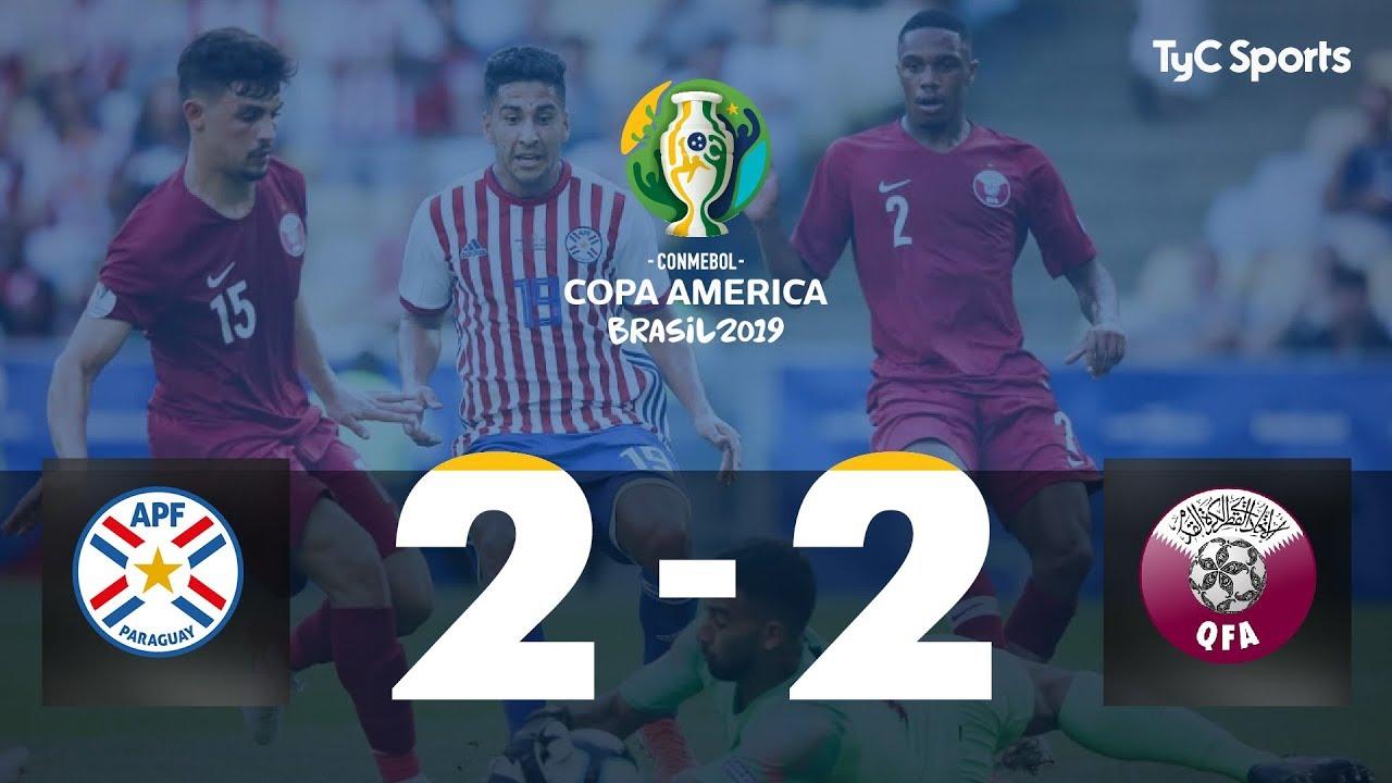 Highlights Paraguay vs. Qatar | #CopaAméricaEnTyCSports
