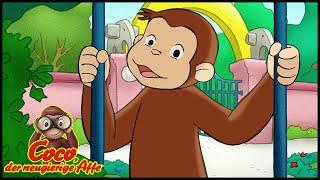 Coco der Neugierige 🐵128 Der Elefant von Obendrüber🐵 Ganze Folgen 🐵 Cartoons für Kinder🐵 Staffel 1