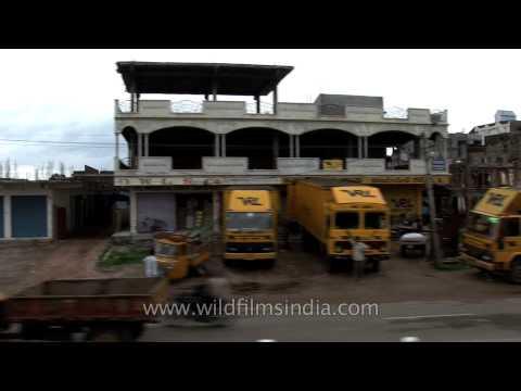 Train journey towards Kerala - India