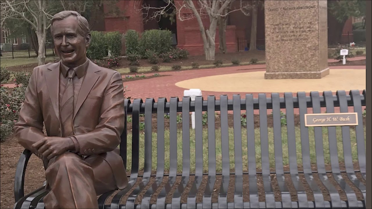 Hampton University Honoring George HW Bush With Statue Sparks Debate