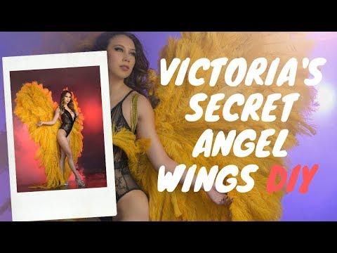 """Victorias Secret Angel Wings DIY """"Gigantic"""""""