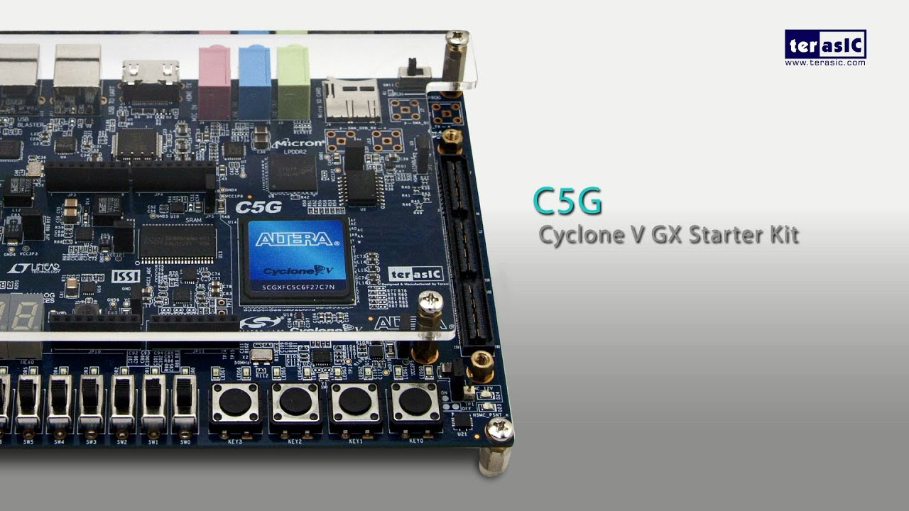 Low Cost Cyclone V Fpga
