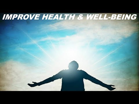 Improve Health & Well-Being Subliminal (Audio + Visual)