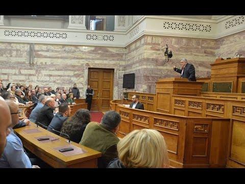 Η σαρωτική ομιλία του Ν. Γ. Μιχαλολιάκου που απαγορεύτηκε από την σταλινική ΕΡΤ