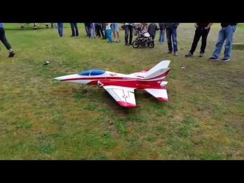 Model Jet at Vinnu in Sunndal Norway