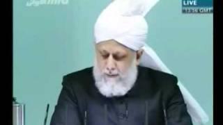 Проповедь Хазрата Мирзы Масрура Ахмада (12-11-10) часть 6