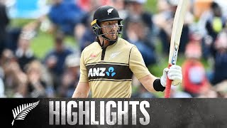 Guptill 97 headlines final over THRILLER | 2nd KFC T20 SHORT HIGHLIGHTS | BLACKCAPS v Australia