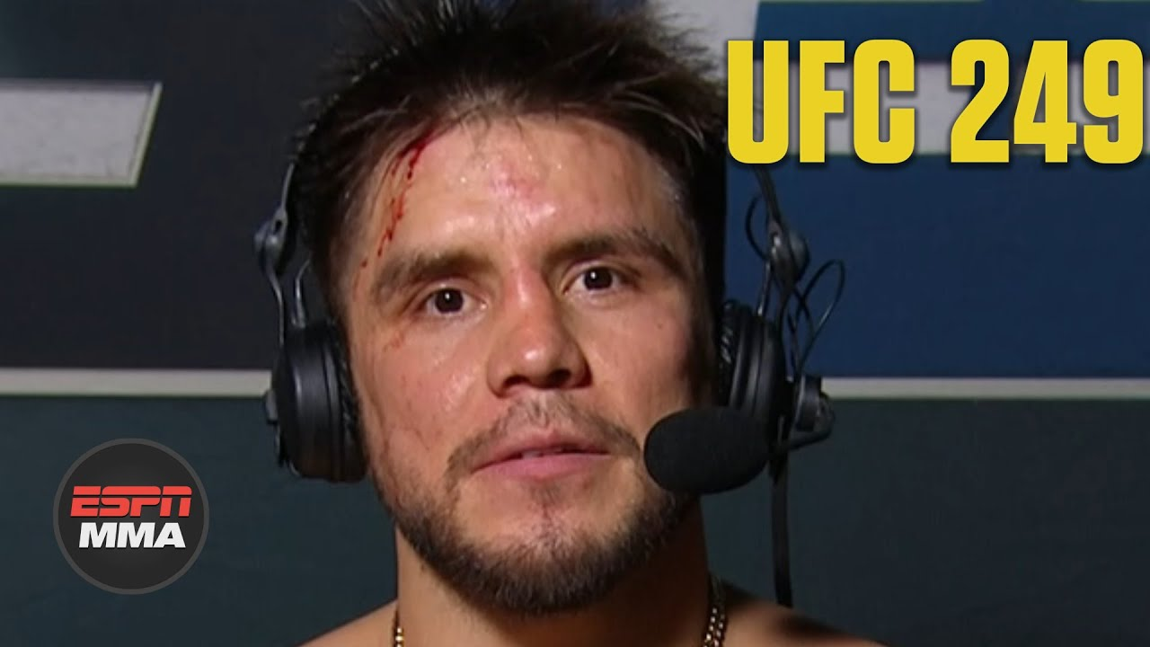 Henry Cejudo explains decision to retire at UFC 249 Press ...