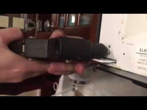 Fix For Sagging Broken Frigidaire Microwave Door