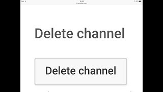 YouTube DELETED my channel...