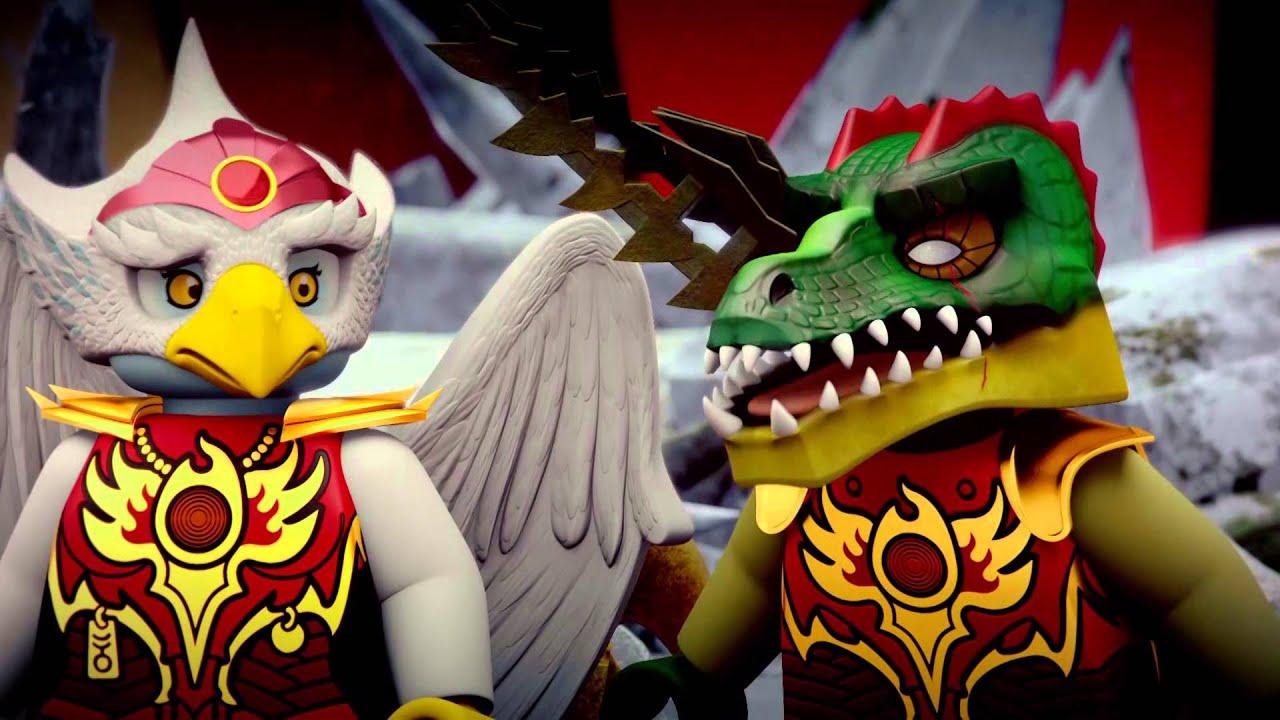 LEGO Chima - epizoda 39 - Jiskra naděje - YouTube