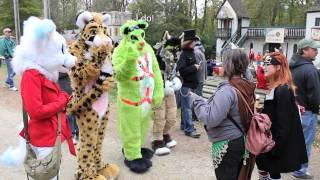 Furries at Ohio Renaissance Festival 2014