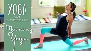 Video Morning Yoga - Energizing Morning Sequence download MP3, 3GP, MP4, WEBM, AVI, FLV Maret 2018