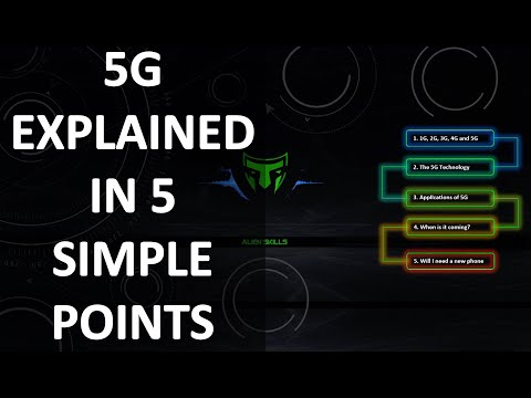 5G Technology And 5G Networks Explained In 5 Simple Points