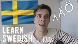 Learn Swedish with Jonas   Let´s speak swedish #1
