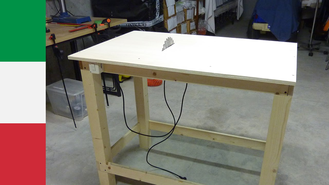 Table Saw Homemade The Best : Making a Homemade Table Saw (part 1) - YouTube