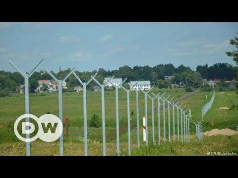 Lithuania's fence on Kaliningrad border | DW Documentary