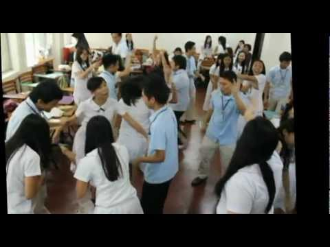 Group Newspaper Dance