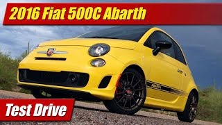 2016 Fiat 500C Abarth: Test Drive