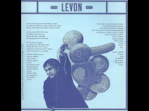 Elton John - Levon (1971) With Lyrics!