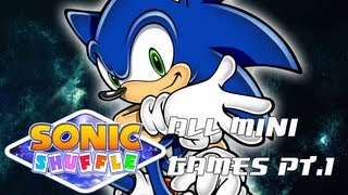 Sonic Shuffle All Mini Games BEST QUALITY Part 1