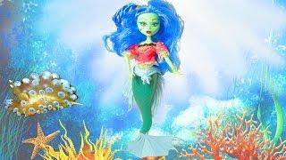 Подводный мир обитатели морей и океанов с Русалочкой Монстер Хай дикие животные для детей