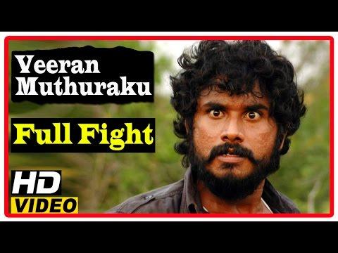 Veeran Muthuraku Tamil Full Movie | Full Fight Scenes |  Namo Narayanan | Aadukalam Naren