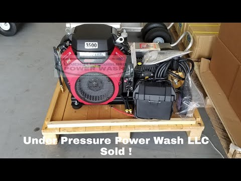 8gpm 3500psi Cold Water Pressure Washer Full KIT Sale - Local Only !