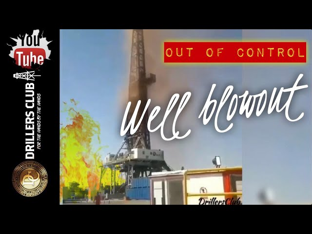 Out Of Control Well Blowout