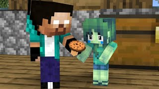 Monster School : Baby Zombie Girl, Don't Cry Part 2 - Sad Story - Minecraft Animation