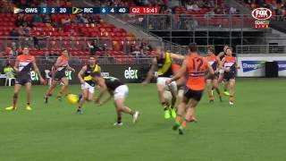 Scully's silky snap - AFL