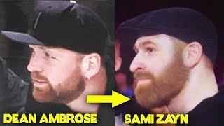 10 WWE Wrestlers Who Look ALike - Dean Ambrose, Sami Zayn & more