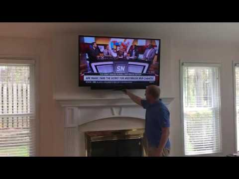 Pull down tv wall mount youtube - Pull down tv mount ...