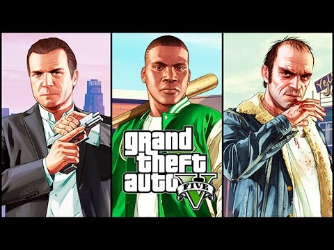 GTA 5 All Cutscenes MOVIE with All ENDINGS & Characters Conversations (PC 1080p 60FPS) thumbnail