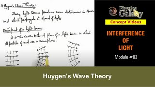 3. Physics | Interference | Huygen