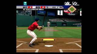 All Star Baseball 2005 Red Sox vs Yankees Part 1