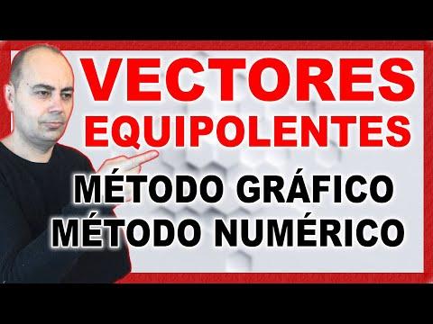 APRENDE Que Son Los VECTORES EQUIPOLENTES Resuelto GRÁFICA y NUMÉRICAMENTE | Geometría Analítica #4