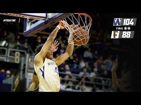 Recap: Markelle Fultz's 35 points help Washington men's basketball roll past Cal State Fullerton