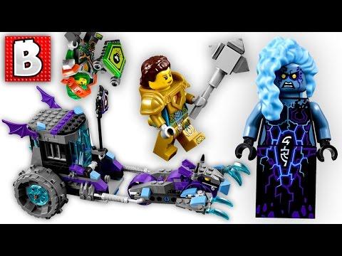 LEGO LIVE BUILD! Nexo Knights Ruin's Lock & Roller  Set 70349