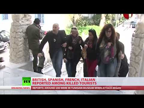 Tunisia Attack: Gunmen take hostages in Tunis Bardo Museum