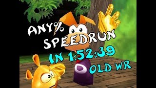 Rayman 2 (PC) - Any% Speedrun in 1:52:39 (old WR)