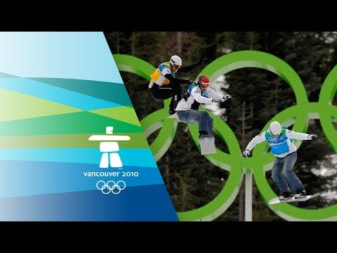 Men\'s Snowboard Cross Highlights - Wescott Wins Gold - Vancouver 2010 Winter Olympics