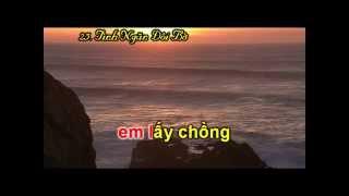 Karaoke - Tình Ngăn Đôi Bờ