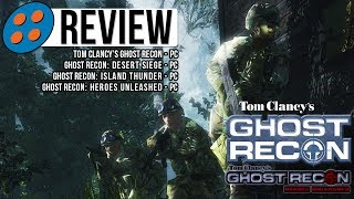 Ghost Recon, Desert Siege, Island Thunder, & Heroes Unleashed v1.0.0b9 Video Review