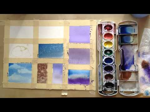 13 Watercolor techniques