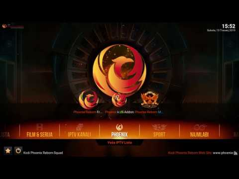 Kodi Phoenix Reborn Build - Instalacija Na Kodi 18 Leia (Official)