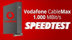 Vodafone Red Internet Phone 1000 Cable Max Gigabit Test / Erfahrung [1000 Mbit] Speedtest Cable Max