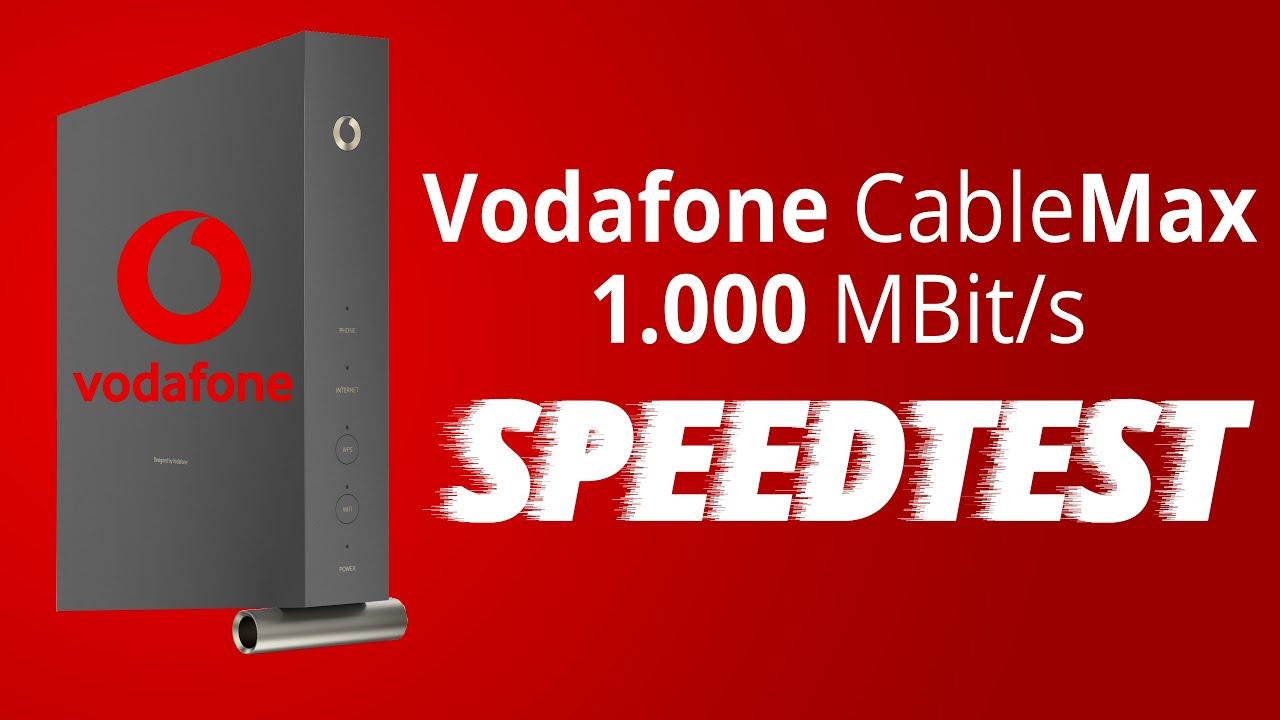 Vodafone DSL  und Kabel Internet Erfahrungen, Geschwindigkeiten ...