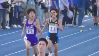 田村/神野/下田  青山学院 OB対決! 日体大記録会 5000m26組 2018.4.22